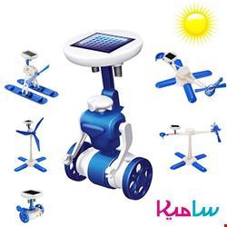کیت ربات شش کاره خورشیدی