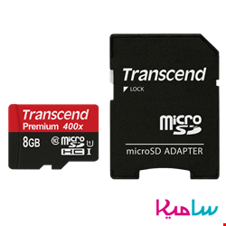 کارت حافظه microSDHC ترنسند مدل Premium کلاس 10 ظرفیت 8 گیگابایت