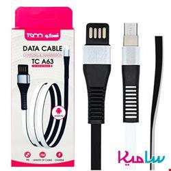کابل تبدیل USB به microUSB تسکو مدل TC-A63 طول 1 متر